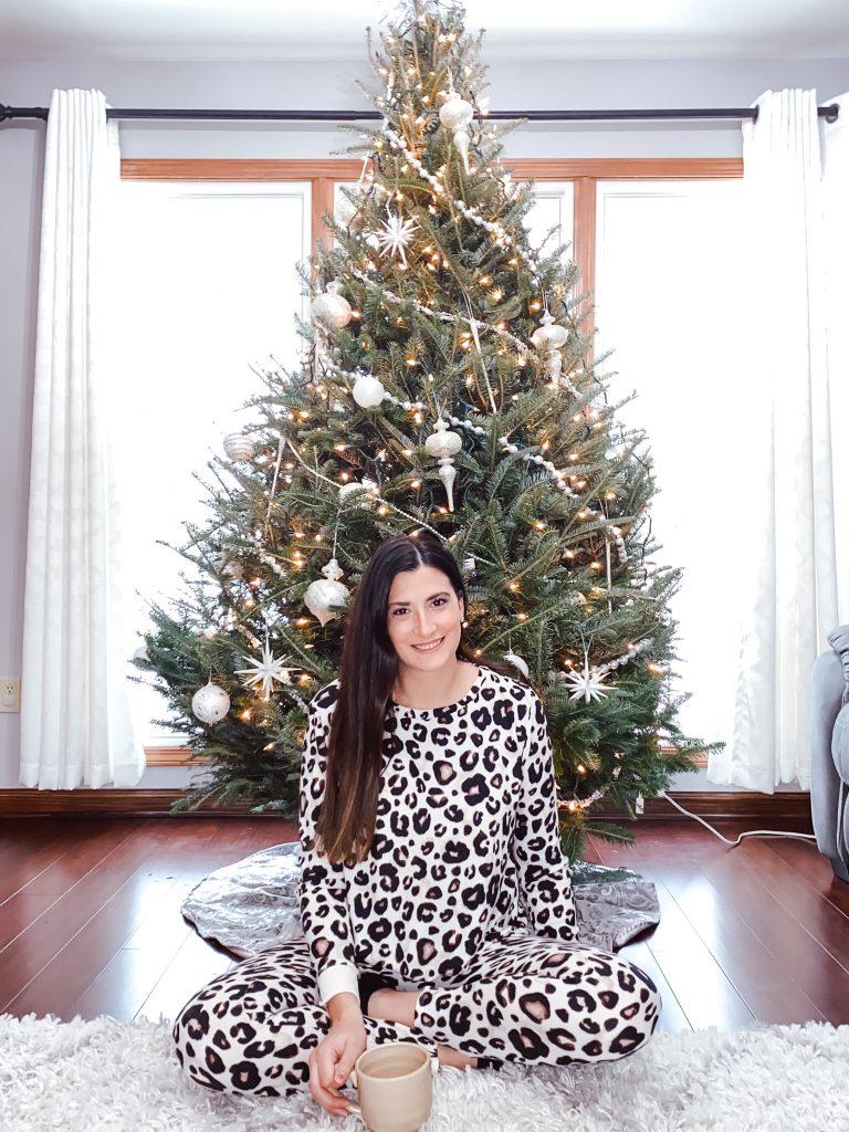 Animal print pajamas