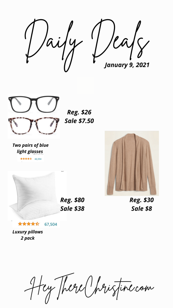 daily deals January 9 2021