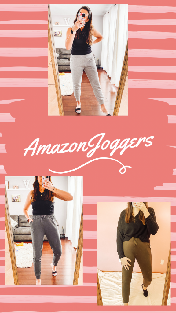 Amazon Jogger Try On